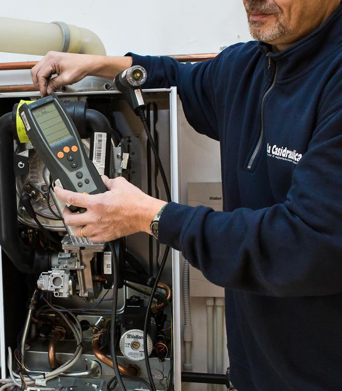 La casidraulica manutenzione caldaie e climatizzatori vaillant - Manutenzione scaldabagno ...