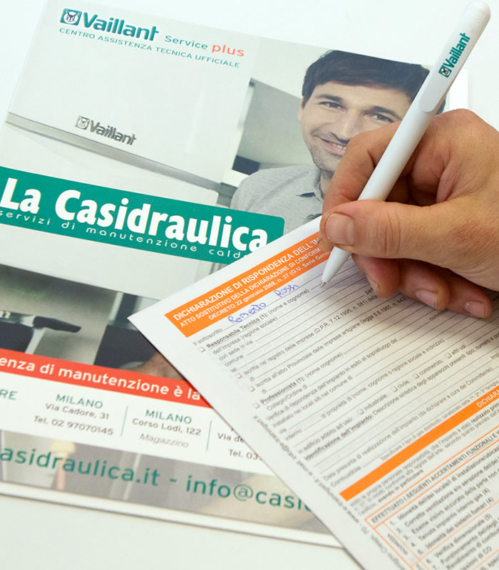 Assistenza Vaillant Efficienza Energetica | La Casidraulica